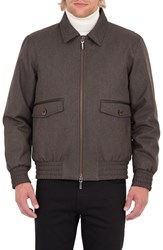 Rainforest Men's Wainwright Waterproof Twill Bomber Jacket