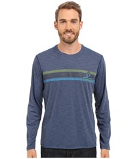Prana Calder L S Blue Ridge Men's Long Sleeve Pullover