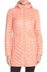 The North Face Women's Thermoball Tm Primaloft Hooded Parka Tropical Peach