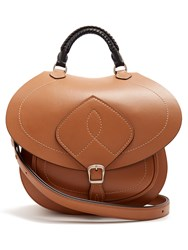 Maison Martin Margiela Saddle Leather Bag Tan