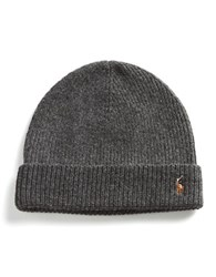Polo Ralph Lauren Merino Wool Beanie Grey
