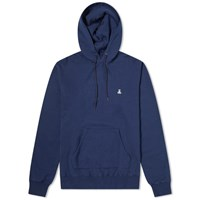 Sophnet. Back 2 Panel Hoody Blue