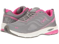 Ryka Kindred Summer Grey Frost Grey Athena Pink Women's Running Shoes Gray