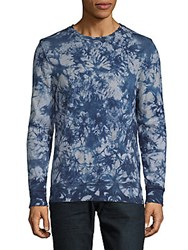 Sovereign Code Tie Dye Long Sleeve Shirt Navy