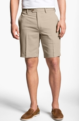 Cutter And Buck Microfiber Twill Shorts Sand