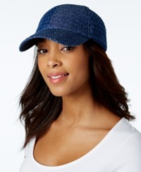 Inc International Concepts Perforated Baseball Cap Only At Macy's Denim