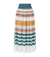 Missoni Lace Midi Skirt Female Multi