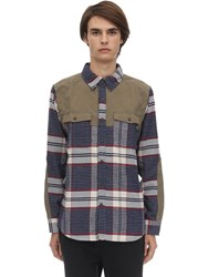 Marmot Needle Peak Cotton Blend Shirt Dark Indigo