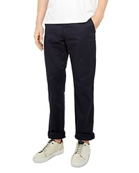Ted Baker Clasleb Classic Fit Chino Pants Navy