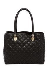 Cole Haan Benson Quilted Leather Tote Black