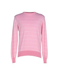 Heritage Knitwear Jumpers Men Fuchsia
