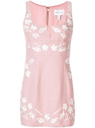 Alice Mccall Pastime Paradise Floral Mini Dress Pink