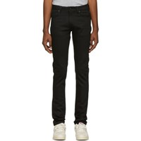 Naked And Famous Denim Black Super Skinny Guy Jeans