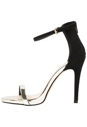 Miss Selfridge Clara High Heeled Sandals Black