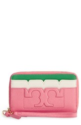 Tory Burch Women's Scallop Leather Smartphone Wallet