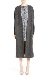 Victor Alfaro Women's Knit Wool Long Cardigan