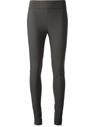 Stella Mccartney Elasticated Waistband Legging Grey