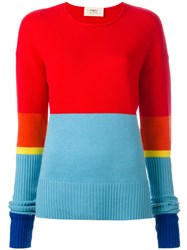 Ports 1961 Colour Block Jumper