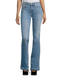 7 For All Mankind Ali Flare Jeans Gold Coast Waves