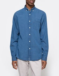 Hope Roy Button Down Shirt Blue Mix
