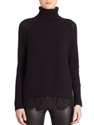 Brochu Walker Lace Cashmere Blend Sweater