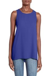 Lush Women's Side Slit Tank Vivid Blue