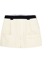 Band Of Outsiders Basketweave Cotton Shorts