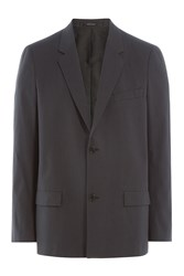 Jil Sander Cotton Blazer Grey