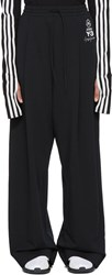 Y 3 Black Wide Lux Lounge Pants
