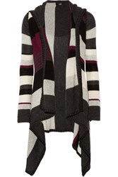 Line Shelby Striped Cashmere Cardigan Multi