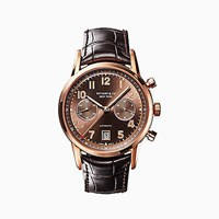 Tiffany And Co. Ct60tm Chronograph 42 Mm Men's Watch In 18K Rose Gold.