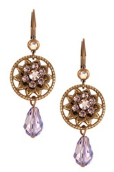 Liz Palacios Antiqued Pretty Drop Earrings No Color