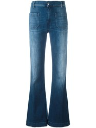 The Seafarer Straight Long Jeans Blue