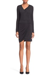Women's The Kooples 'Shiny' Melange Jersey Sheath Dress