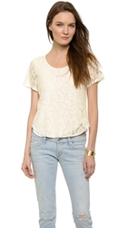 Rory Beca Gil Lace Blouse Cream