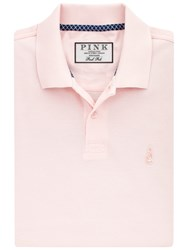 Thomas Pink Warner Plain Polo Shirt Pale Pink