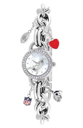 Game Time 'Nfl Indianapolis Colts' Charm Bracelet Watch 23Mm