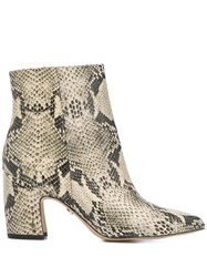 Sam Edelman Snake Print Effect Booties 60