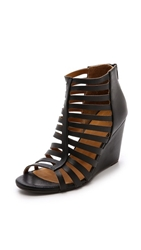Coclico Joni Cage Wedges Black