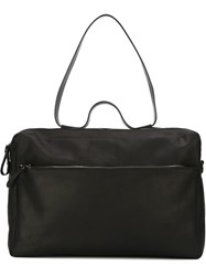Marsa Ll Double Zip Shoulder Bag Black