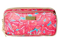 Lilly Pulitzer Make It Cosmetic Case Sea Blue Flirty Cosmetic Case Pink