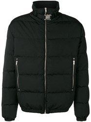 Alyx Zip Padded Jacket Black