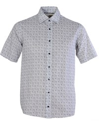 Double Two Men's Bar Harbour By Casual Shirt White