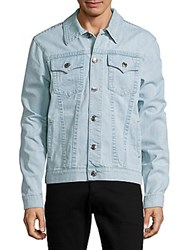 True Religion Denim Long Sleeve Jacket Natural