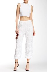 Indah Crocheted Harem Pant White