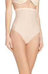 Magic Bodyfashion 'S Lite High Waist Shaping Thong Latte