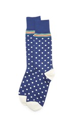 Paul Smith Signature Polka Dot Socks Navy