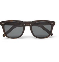 Kingsman Cutler And Gross D Frame Tortoiseshell Acetate Sunglasses Brown