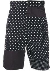 Engineered Garments Polka Dot Bermuda Shorts Blue