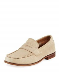 Cole Haan Topsail Penny Ii Suede Loafer Brown